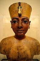 Statue of Queen Hatshepsut, Egyptian Museum, Cairo, Egypt.