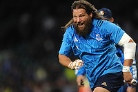 Martin Castrogiovanni of Italy warms up before Match 5 of the Rugby World Cup 2015 between France and Italy - 19/09/2015 - Twickenham Stadium, London <br /> Mandatory Credit: Rob Munro/Stewart Communications
