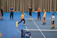 Amstelveen, Netherlands, 5  Juli, 2021, National Tennis Center, NTC, AmstelveenWomans Open, Tennis trainers, coaches.<br /> Photo: Henk Koster/tennisimages.com