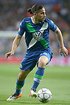 WfL Wolfsburg's Ricardo Rodriguez during Champions League 2015/2016 Quarter-finals 2nd leg match. April 12,2016. (ALTERPHOTOS/Acero)