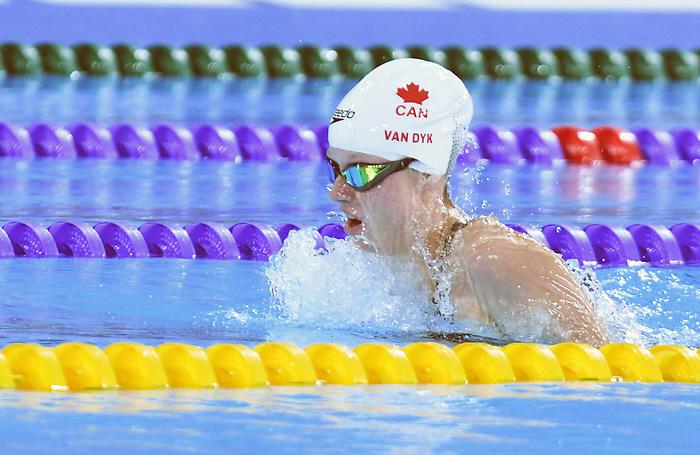 Emma Van Dyk, Lima 2019 - Para Swimming // Paranatation.<br /> Emma Van Dyk competes in Para Swimming // Emma Van Dyk participe en paranatation. 25/08/2019.