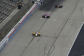 #2: Josef Newgarden, Team Penske Chevrolet, #60: Jack Harvey, Meyer Shank Racing Honda