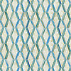Leticia, a hand-cut jewel glass mosaic, shown in Quartz and Aquamarine.