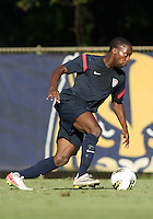 MIAMI, FL - DECEMBER 21, 2012:  Boyd Okwuonu of the USA MNT U20 during a closed scrimmage with the Venezuela U20 team, on Friday, December 21, 2012, At the FIU soccer field in Miami.  USA won 4-0.