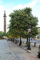 Trees in an urban environment, Liverpool...Copyright..John Eveson, Dinkling Green Farm, Whitewell, Clitheroe, Lancashire. BB7 3BN.01995 61280. 07973 482705.j.r.eveson@btinternet.com.www.johneveson.com