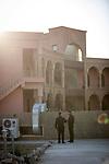 Irak, Juni 2014 - Die irakische Stadt Karakosch beheimatet die letzten Christen im Irak. Im Priesterseminar von karakosch wurde Platz fuer christliche Fluechtlinge aus Mossul geschaffen. In der jetzigen Situation erscheint dieser Ort wie eine Oase des Friedens.<br /> <br /> Engl.: Asia, Iraq, North Iraq, conflict area, Karakosh, seminary, religion, refugees from Mosul, the last Christians in Iraq are domiciled in Karakosh, June 2014