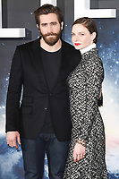 """Jake Gyllenhaal and Rebecca Ferguson<br /> at the photocall for the film """"Life"""", Corinthia Hotel, London.<br /> <br /> <br /> ©Ash Knotek  D3242  16/03/2017"""