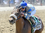 June 7, 2014: Sweet Reason, ridden by Irad Ortiz, Jr., wins the Acorn Stakes on Belmont Stakes Day at Belmont Park in Elmont, New York. Bob Mayberger/ESW/CSM