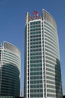 Bank of Beijing headquarters in Beijing, China..