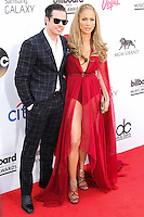 LAS VEGAS, NV, USA - MAY 18: Casper Smart, Jennifer Lopez at the Billboard Music Awards 2014 held at the MGM Grand Garden Arena on May 18, 2014 in Las Vegas, Nevada, United States. (Photo by Xavier Collin/Celebrity Monitor)