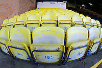 General view of the empty seats ahead of Southend United vs Brighton & Hove Albion Under-23, Checkatrade Trophy Football at Roots Hall on 30th August 2016
