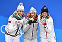 PyeongChang 2018: Biathlon: Women's 10km Pursuit Medal Ceremony