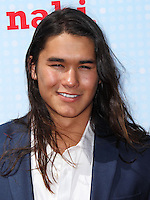 LOS ANGELES, CA, USA - APRIL 26: Booboo Stewart at the 2014 Radio Disney Music Awards held at Nokia Theatre L.A. Live on April 26, 2014 in Los Angeles, California, United States. (Photo by Xavier Collin/Celebrity Monitor)