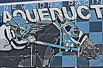 April 4, 2015: Aqueduct scene . Sue Kawczynski/ESW/CSM