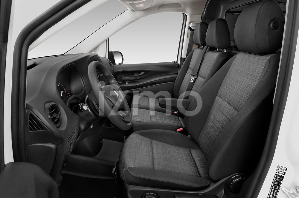 Front seat view of 2020 Mercedes Benz eVito Base 4 Door Cargo Van Front Seat  car photos