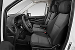 Front seat view of 2020 Mercedes Benz eVito Base 4 Door Cargo Van Front Seat  car photos
