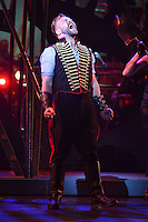"""Daniel Bedingfield<br /> in the musical of """"The War of the Worlds"""" at the Dominion Theatre, London.<br /> <br /> <br /> ©Ash Knotek  D3083 12/02/2016"""