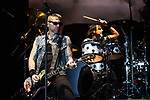 © Joel Goodman - 07973 332324 . 15/12/2015 . Manchester , UK . RICKY WARWICK leads the Black Star Riders performing at the Manchester Arena . Photo credit : Joel Goodman