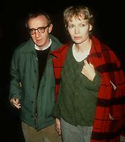 Woody Allen Mia Farrow 1982 Photo by Adam Scull-PHOTOlink.net