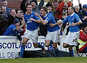 24/02/2007       Copyright Pic: James Stewart.File Name : sct_jspa15_qots_v_hibernian.JOHN O'NEILL CELEBRATES SCORING QUEEN OF THE SOUTH'S GOAL.....James Stewart Photo Agency 19 Carronlea Drive, Falkirk. FK2 8DN      Vat Reg No. 607 6932 25.Office     : +44 (0)1324 570906     .Mobile   : +44 (0)7721 416997.Fax         : +44 (0)1324 570906.E-mail  :  jim@jspa.co.uk.If you require further information then contact Jim Stewart on any of the numbers above.........