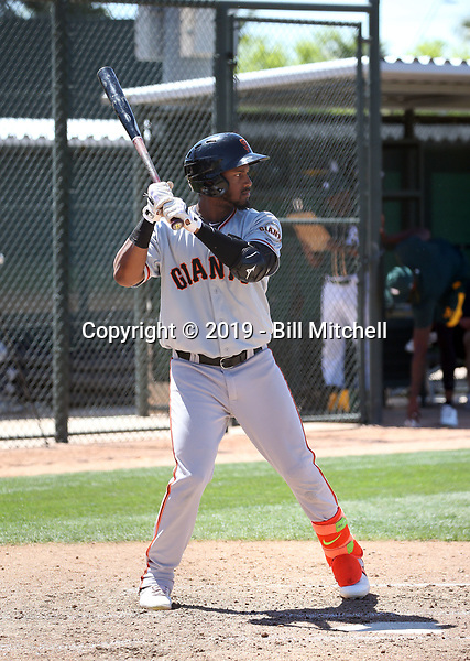 Mikey Edie - San Francisco Giants 2019 spring training (Bill Mitchell)
