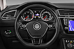 Car pictures of steering wheel view of a 2017 Volkswagen Tiguan Comfortline 5 Door Suv Steering Wheel