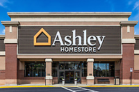 Ashley Homestore location, Georgia.