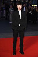 "Barry Keoghan<br /> arriving for the London Film Festival 2017 screening of ""Killing of a Sacred Deer"" at Odeon Leicester Square, London<br /> <br /> <br /> ©Ash Knotek  D3332  12/10/2017"