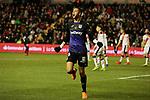 CD Leganes's Youssef En-Nesyri celebrates goal during La Liga match between Rayo Vallecano and CD Leganes at Vallecas Stadium in Madrid, Spain. February 04, 2019. (ALTERPHOTOS/A. Perez Meca)