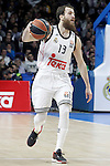 Real Madrid's Sergio Rodriguez during Euroleague match.February 5,2015. (ALTERPHOTOS/Acero)