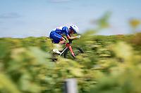 Valentin Madouas (FRA/Groupama - FDJ)<br /> <br /> Stage 20 (ITT) from Libourne to Saint-Émilion (30.8km)<br /> 108th Tour de France 2021 (2.UWT)<br /> <br /> ©kramon