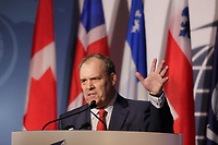 Montreal, CANADA, June, 2015  File Photo<br /> <br /> Claude Mongeau, President and CEO, CN<br /> <br /> attend the The International Economic Forum of the Americas<br /> <br /> Photo :   Pierre Roussel - AQP