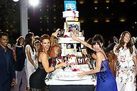 Monte-Carlo, Monaco, 18/06/2017 - 57th Monte-Carlo Television Festival.<br /> 30th Anniversary of 'The Bold and the Beautiful' party during the Monte-Carlo Television Festival, at the Monte-Carlo Bay hotel with Courtney Hope, Jacqueline Mac Innes Wood # 30EME ANNIVERSAIRE DE 'AMOUR, GLOIRE ET BEAUTE'