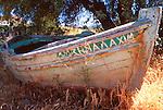 Boat, Lesbos, Greece
