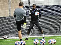 Springfield, VA - January 23, 2019: D.C. United training session to kick start their 2019 Major League Soccer (MLS) preseason at The St. James sport complex.