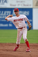 Batavia Muckdogs Zach Penprase during a NY-Penn League game at Dwyer Stadium on July 2, 2006 in Batavia, New York.  (Mike Janes/Four Seam Images)