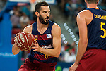 FC Barcelona Lassa player Pau Ribas during the final of Supercopa of Liga Endesa Madrid. September 24, Spain. 2016. (ALTERPHOTOS/BorjaB.Hojas)