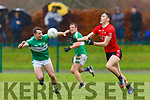 David Clifford Fossa and Damien O'Sullivan  Legion in action during the East Kerry QF in Direen on Sunday
