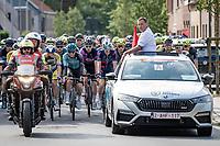 neutralised start<br /> <br /> Grote Prijs Marcel Kint 2021<br /> One day race from Zwevegem to Kortrijk (196km)<br /> <br /> ©kramon