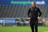 Dean Holden, Interim Manager of Bristol City during the Sky Bet Championship match between Swansea City and Bristol City at the Liberty Stadium in Swansea, Wales, UK. Saturday 18 July 2020
