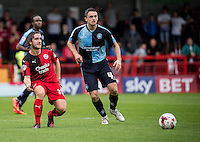 Luke Rooney of Crawley Town during the Sky Bet League 2 match between Crawley Town and Wycombe Wanderers at Checkatrade.com Stadium, Crawley, England on 29 August 2015. Photo by Liam McAvoy.