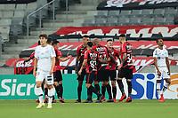 25th August 2021;  Arena da Baixada, Curitiba, Paraná, Brazil;  Brazil Copa  football, Athletico Paranaense versus Santos;  Renato Kayzer of Athletico, celebrates his goal during the match