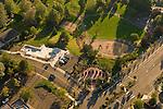 Aerial View of Gresham Main City Park, Oregon