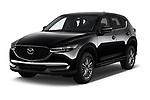 2018 Mazda CX-5 Sport 5 Door SUV angular front stock photos of front three quarter view