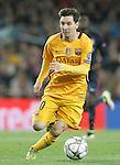 FC Barcelona's Leo Messi during Champions League 2015/2016 match. April 5,2016. (ALTERPHOTOS/Acero)