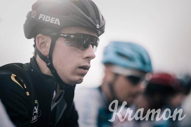 Lars van der Haar (NED/Telenet Fidea Lions) on the start line<br /> <br /> Super Prestige Ruddervoorde / Belgium 2017