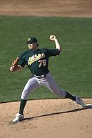Barry Zito. Baseball: Oakland Athletics vs San Francisco Giants. San Francisco, CA 5/22/2005 MANDATORY CREDIT: Brad Mangin