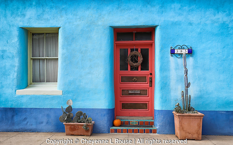 Barrio Blue - Arizona<br /> Historic Adobe - Tucson