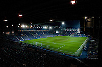 WEST BROMWICH, ENGLAND - FEBRUARY 11: View of The Hawthorns prior to the Premier League match between West Bromwich Albion and Swansea City at The Hawthorns on February 11, 2015 in West Bromwich, England. (Photo by Athena Pictures/Getty Images)
