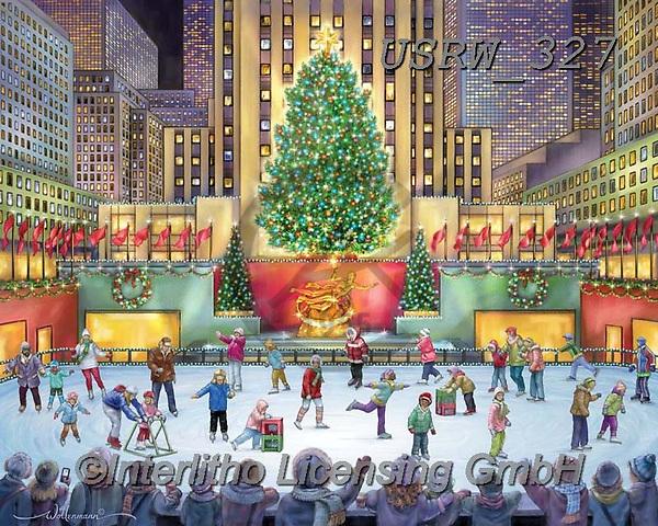Randy, CHRISTMAS CHILDREN, WEIHNACHTEN KINDER, NAVIDAD NIÑOS, paintings+++++Rockefeller-Center_sm,USRW327,#xk#